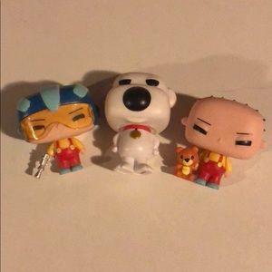 Stewie POP figure set with Brian